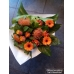 Boeket oranje \ groen